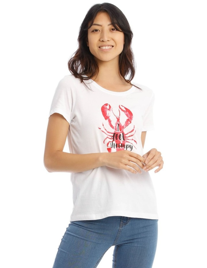 Happy Lobster T-Shirt image 1