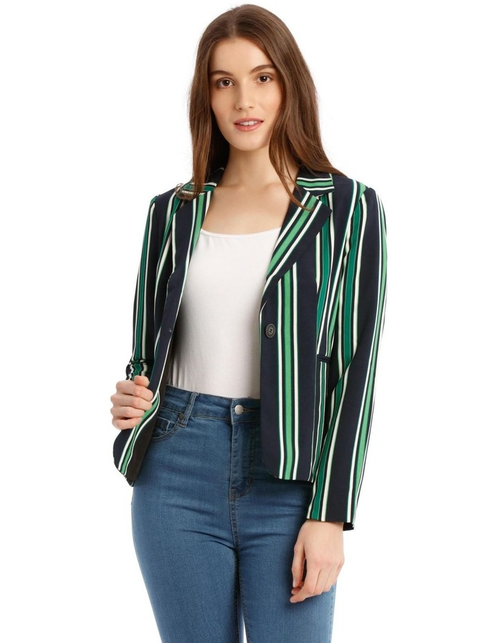 Michelle Long Sleeve Short Fitted Blazer image 1