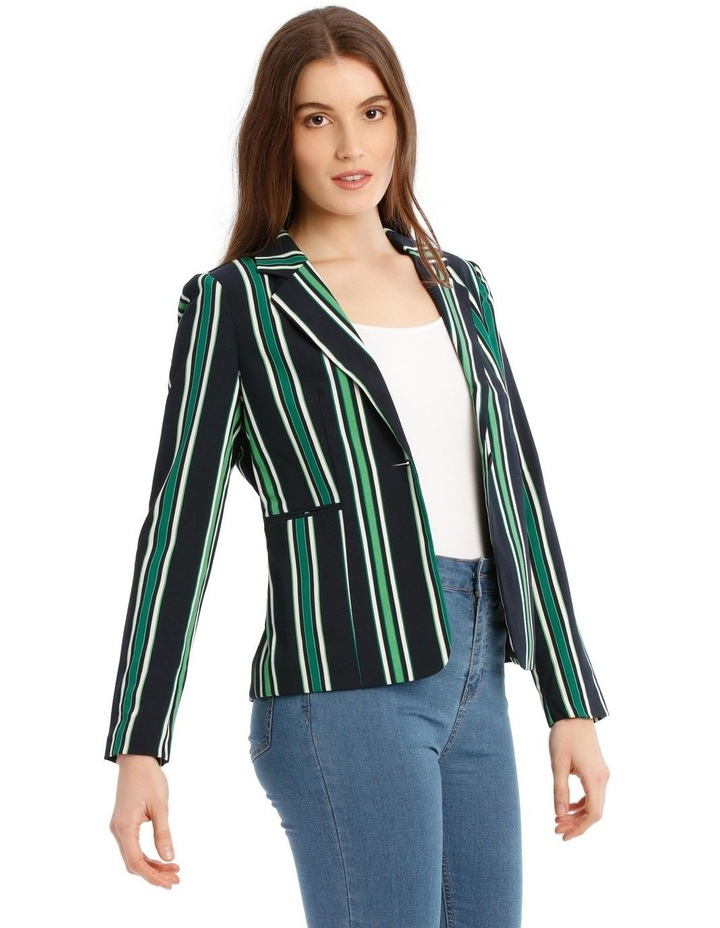 Michelle Long Sleeve Short Fitted Blazer image 2