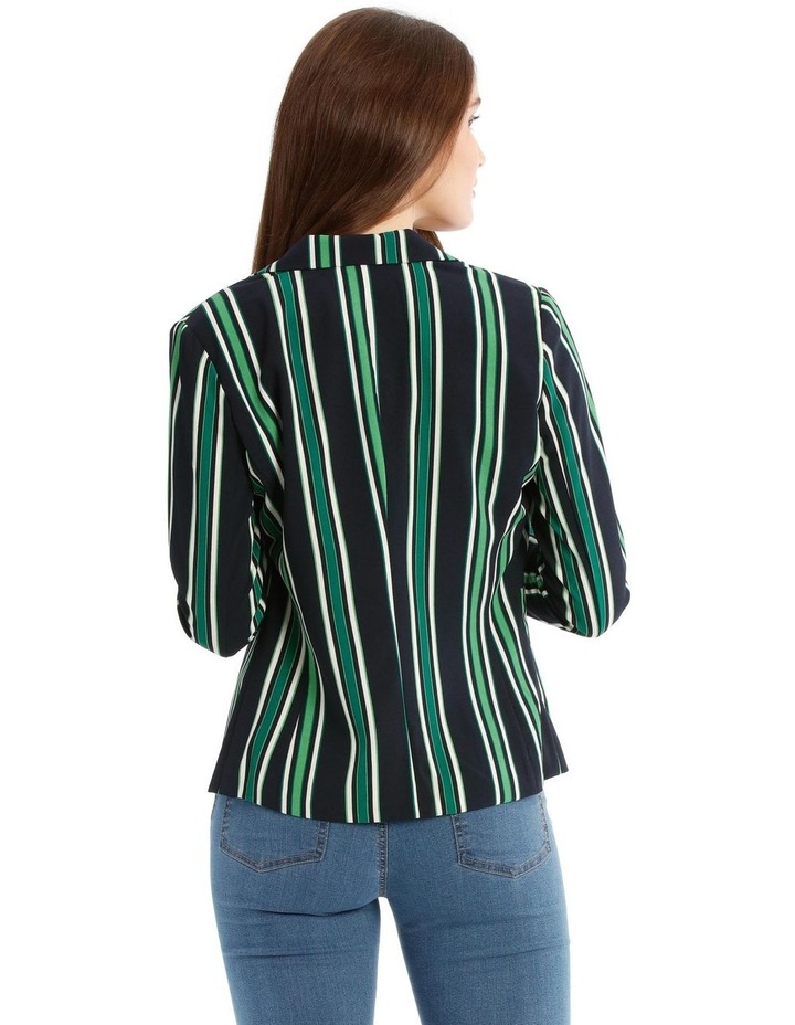 Michelle Long Sleeve Short Fitted Blazer image 3