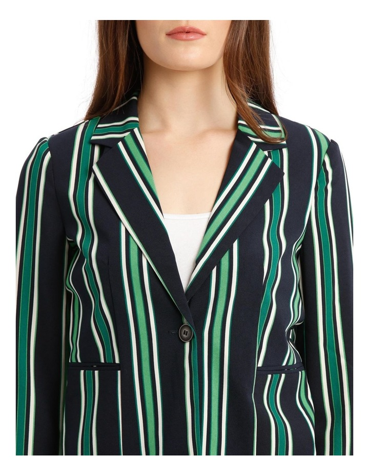Michelle Long Sleeve Short Fitted Blazer image 4