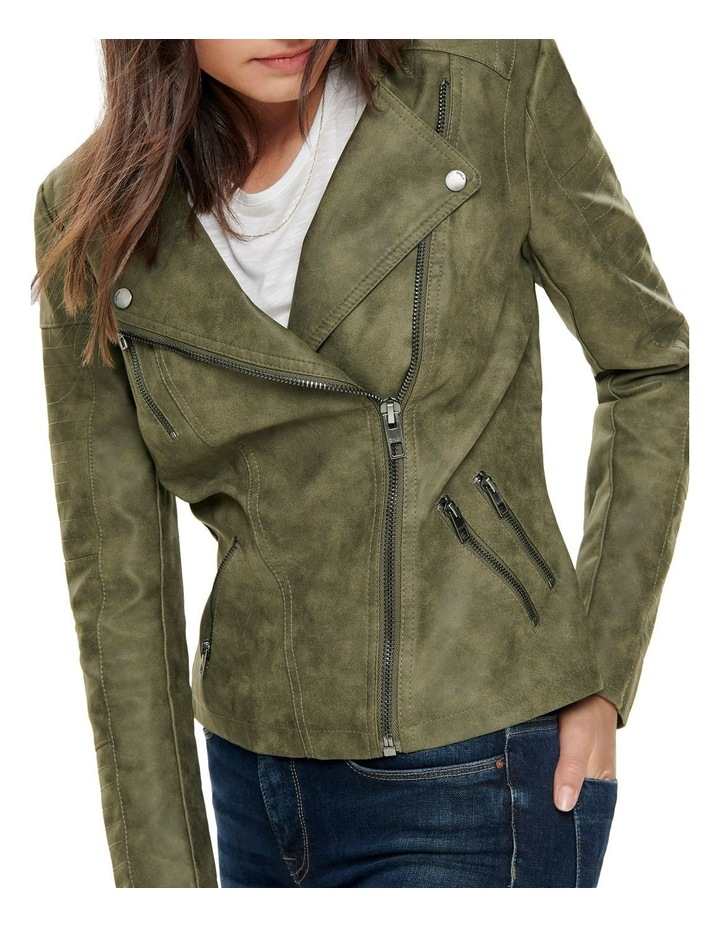 Ava Faux Leather Jacket image 4