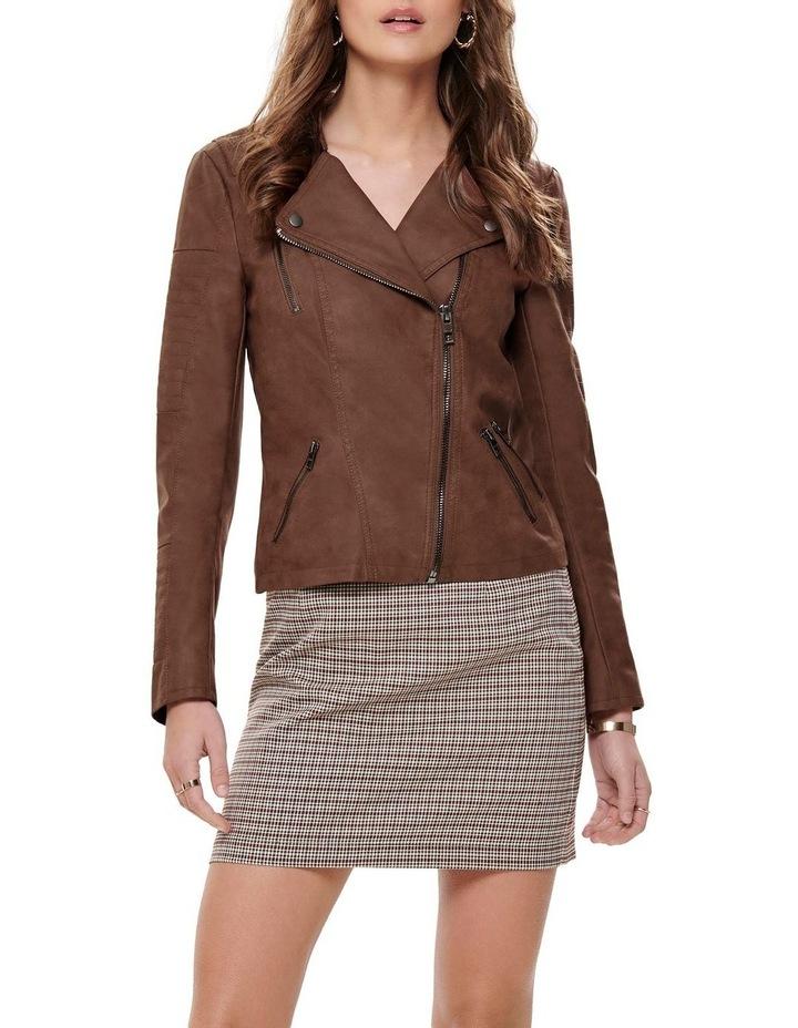 Ava Faux Leather Jacket image 1