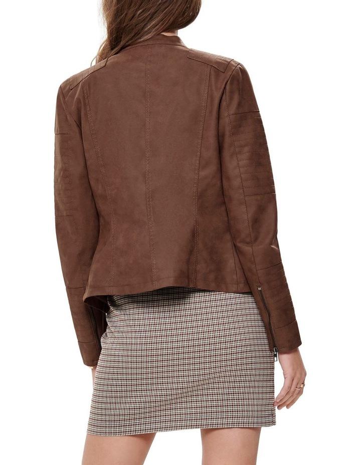 Ava Faux Leather Jacket image 2