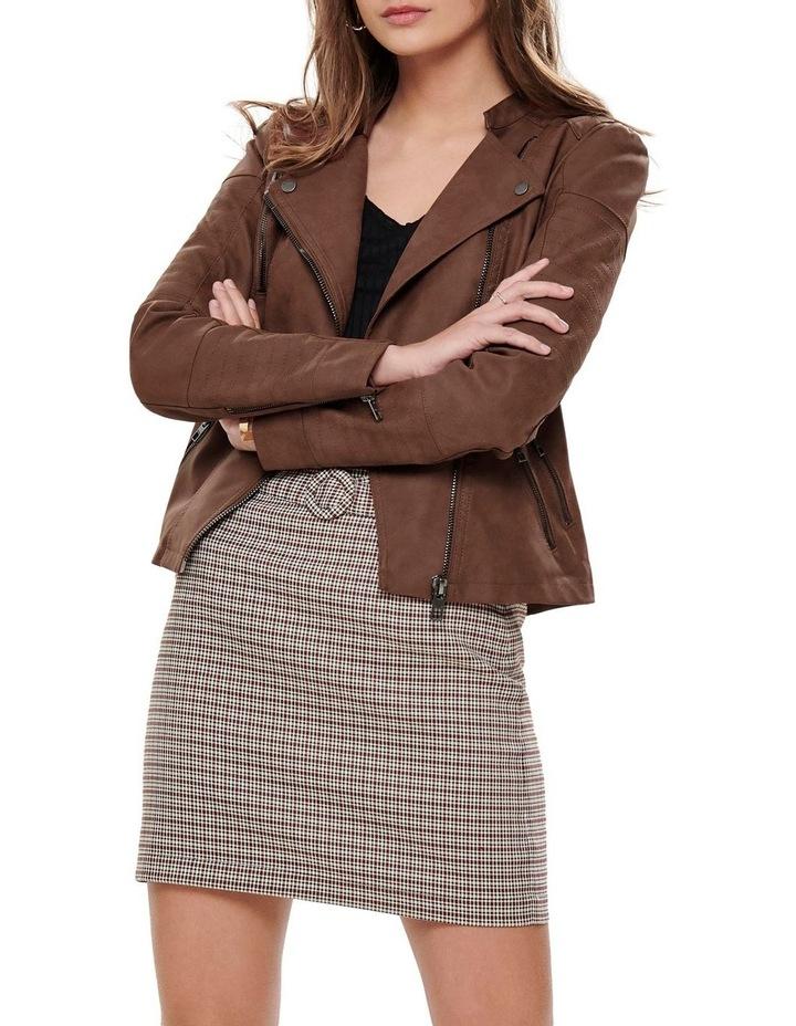 Ava Faux Leather Jacket image 3