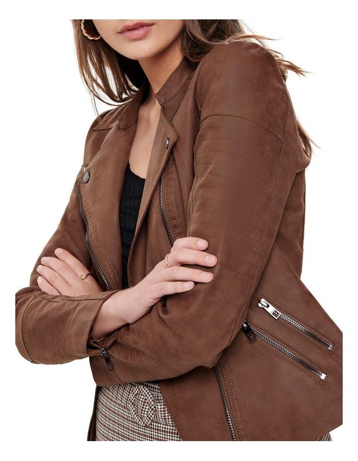 Ava Faux Leather Jacket image 4