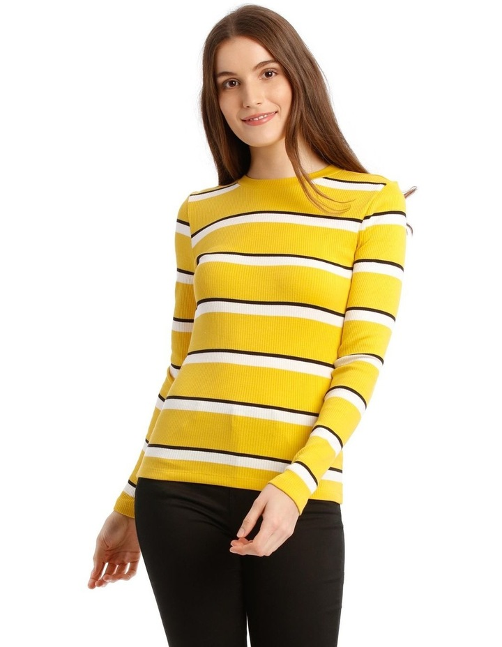 Camilla Long Sleeve Stripe Top image 1