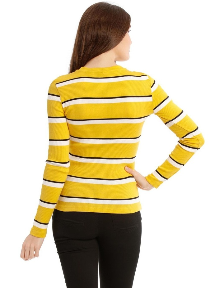Camilla Long Sleeve Stripe Top image 3