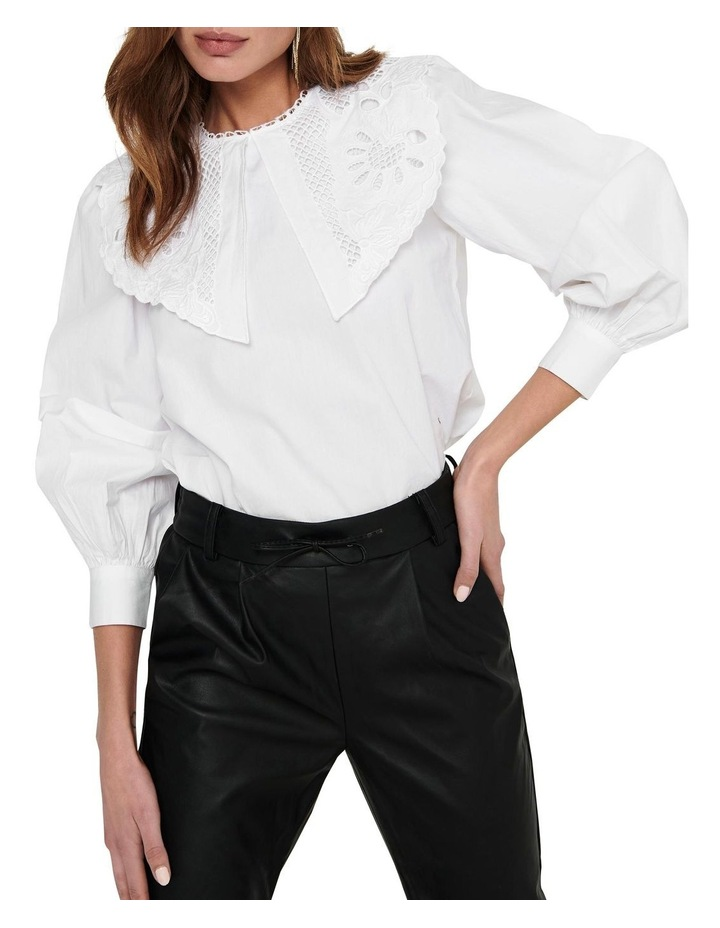 Jane Long Sleeve Collar Top image 4