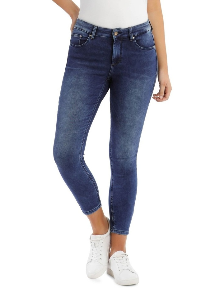Mid Rise Ankle Jeans image 1