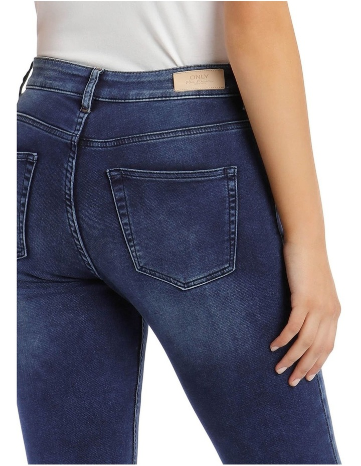 Mid Rise Ankle Jeans image 4