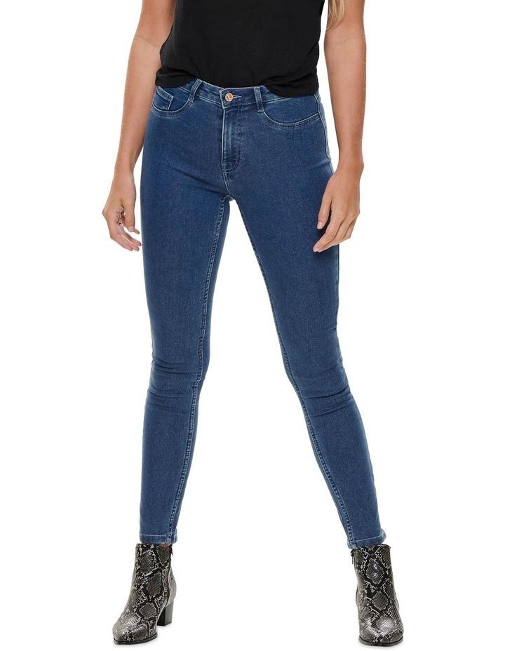 Hi-Rise Skinny Jeans image 1