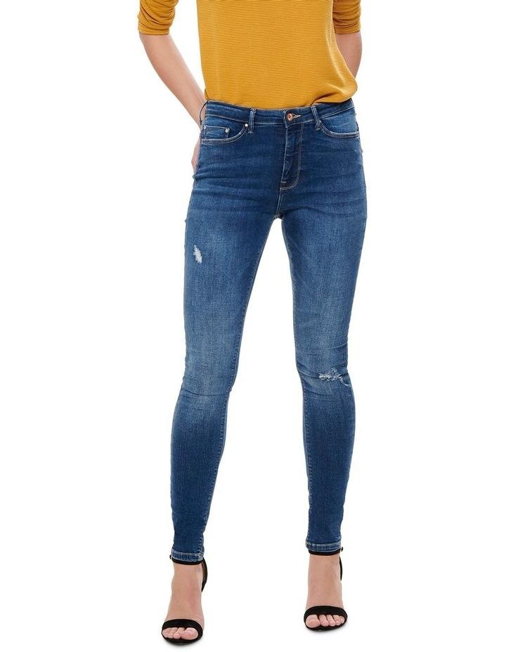 Paola High Waisted Skinny Jeans image 1