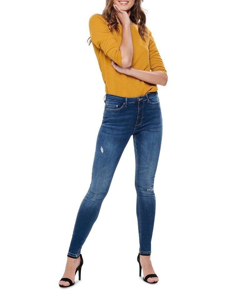 Paola High Waisted Skinny Jeans image 3