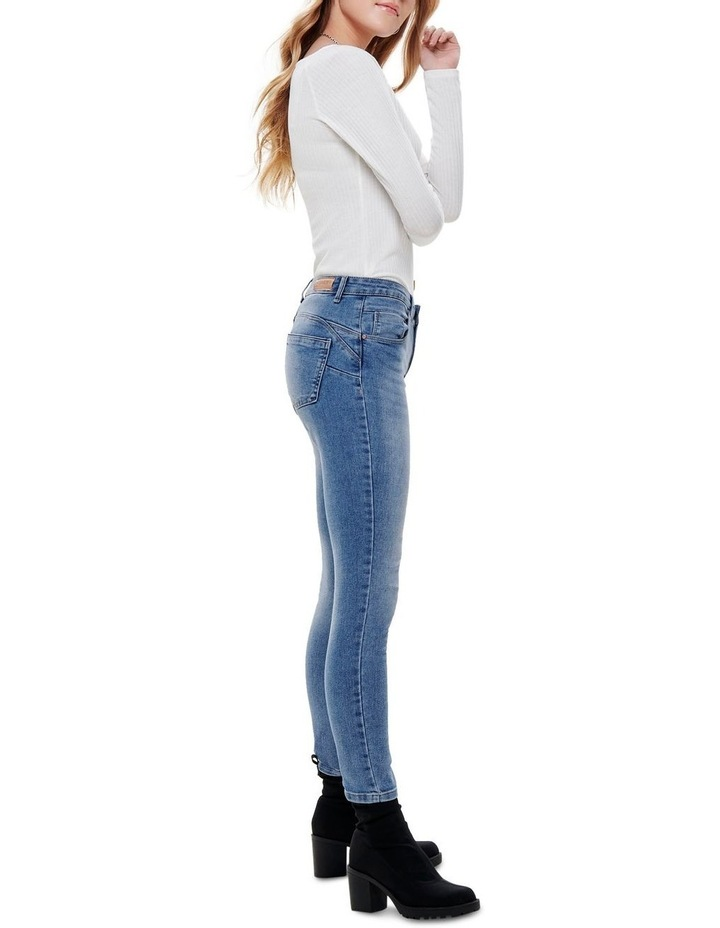 Daisy Pushup Skinny Jeans image 3