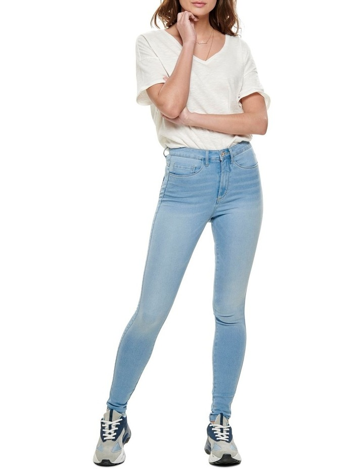 Royal High Waist Skinny Fit Jeans image 3