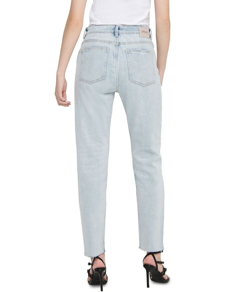 Emily High-Waist Cropped Straight Fit Jeans image 2