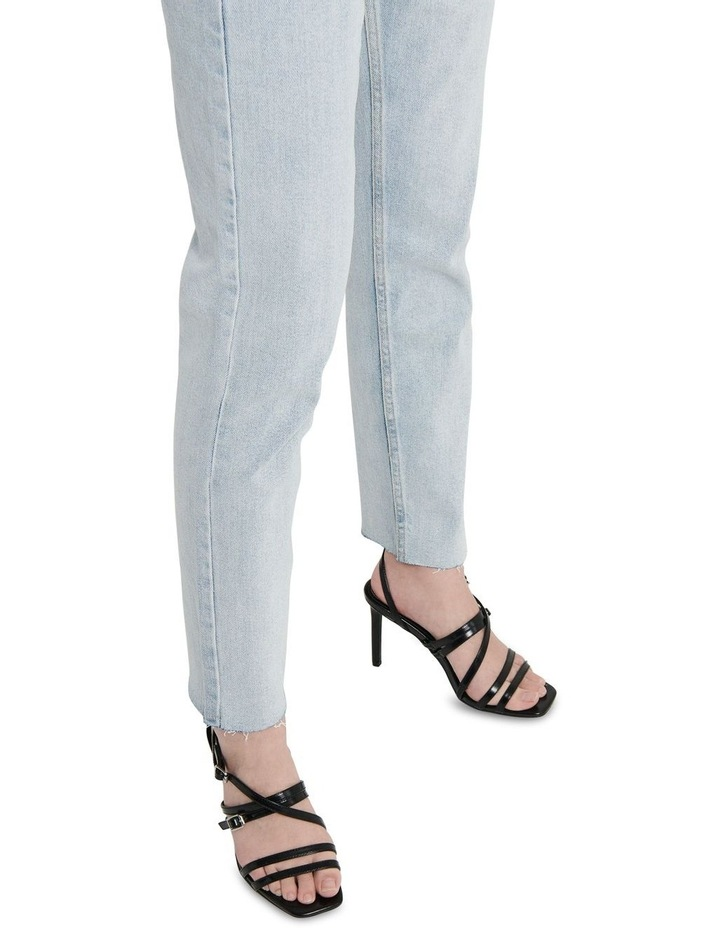 Emily High-Waist Cropped Straight Fit Jeans image 4