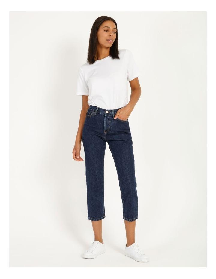 Fine High Waisted Jeans image 4