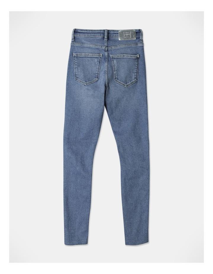 Blake High Waisted Skinny Jeans image 3
