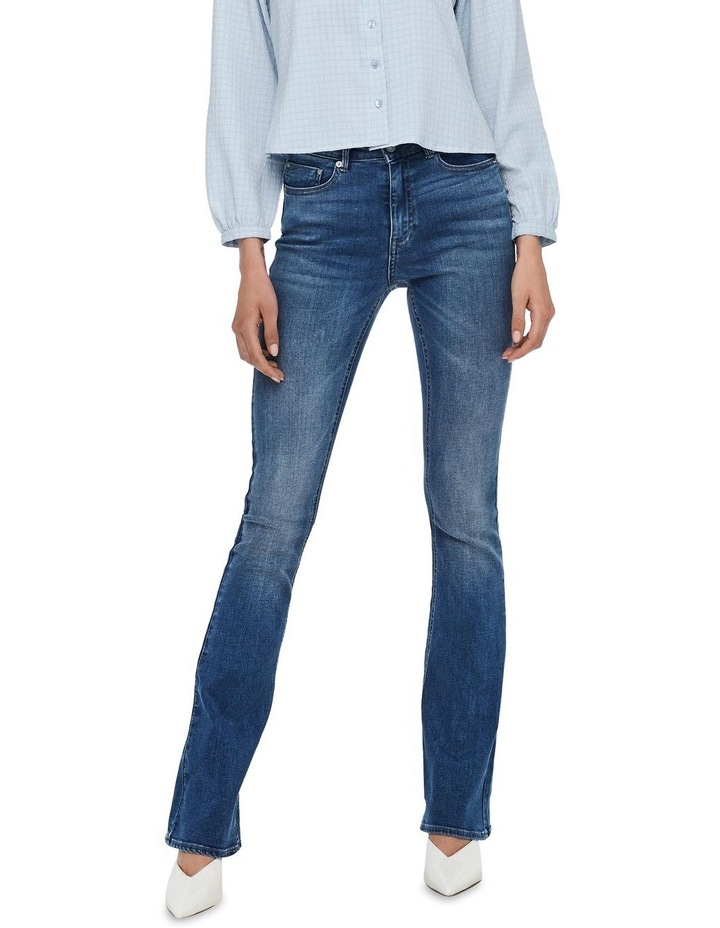 Paola Life High Waisted Flared Jeans image 1