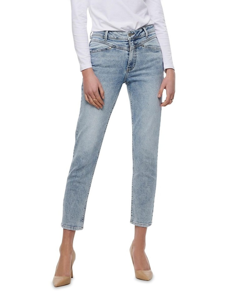 Erica Life Mid Rise Ankle Cut Jeans image 1