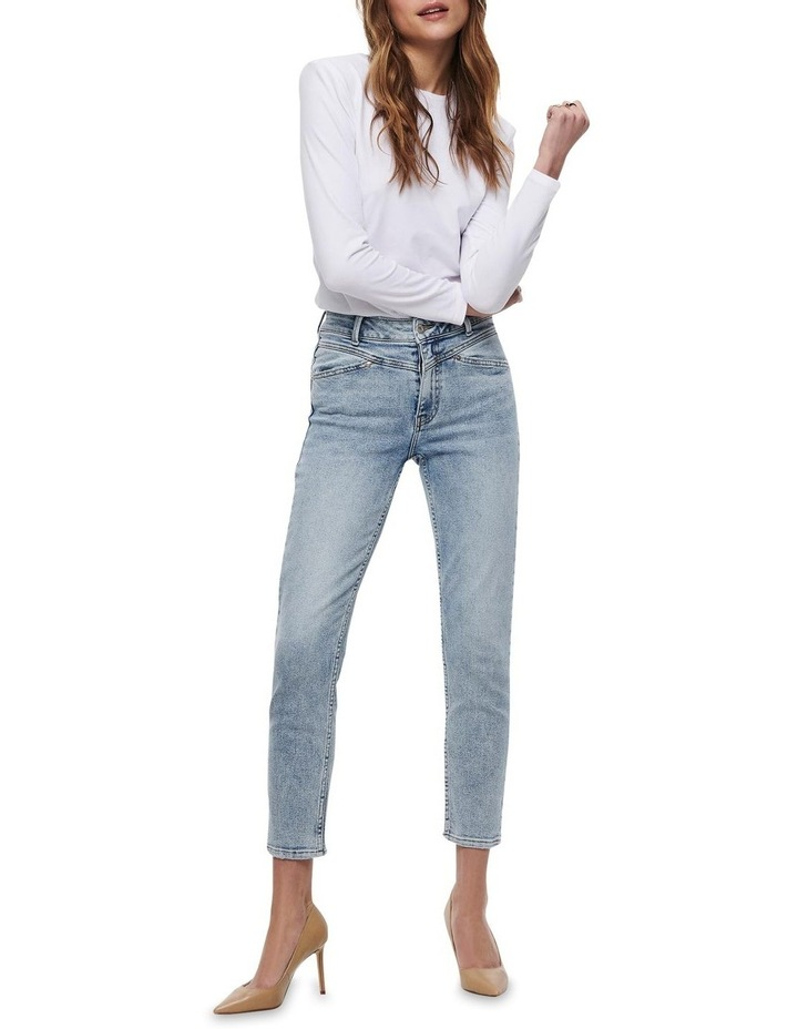 Erica Life Mid Rise Ankle Cut Jeans image 3