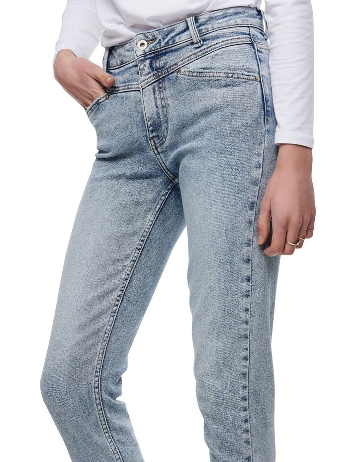 Erica Life Mid Rise Ankle Cut Jeans image 4