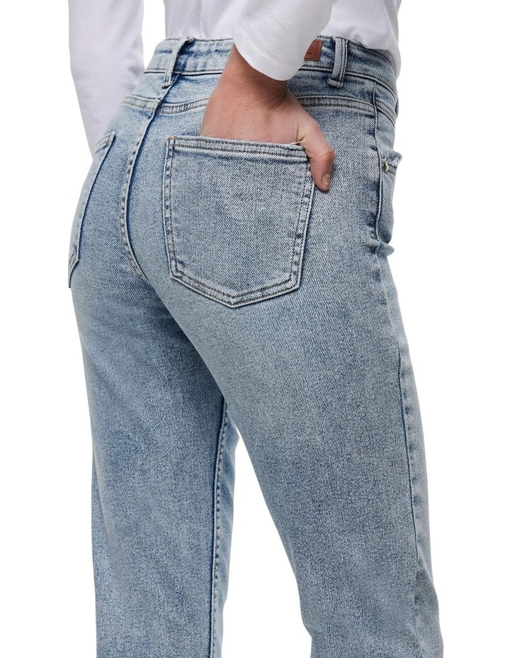 Erica Life Mid Rise Ankle Cut Jeans image 5
