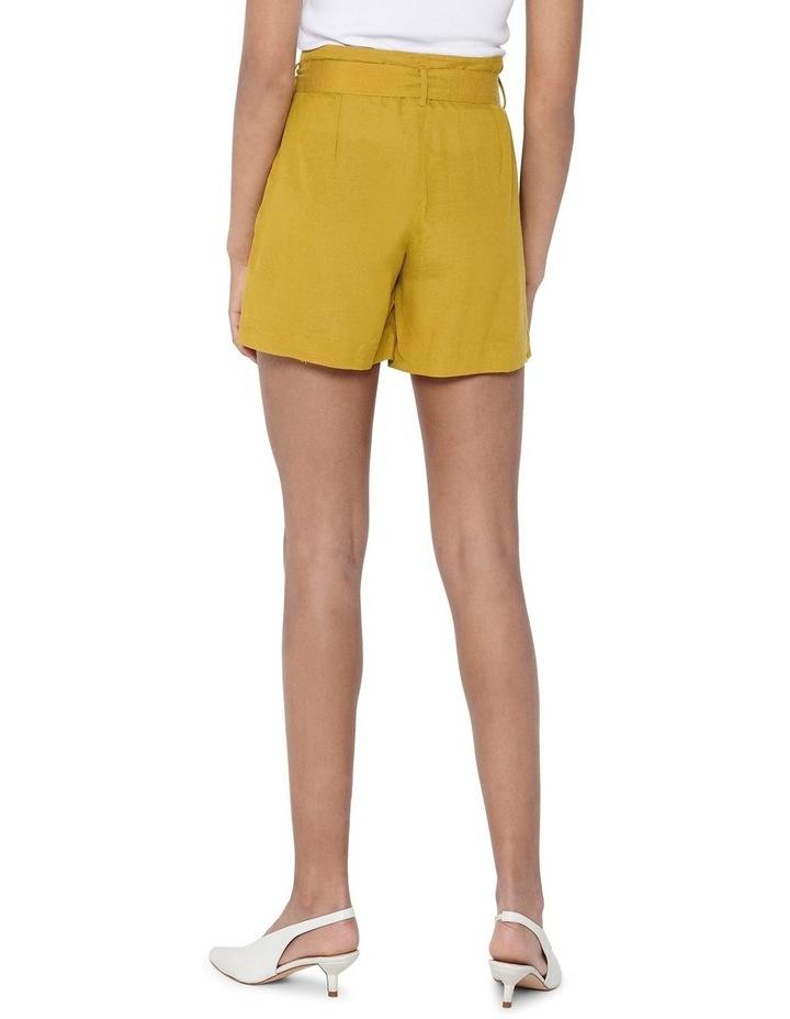 Viva High Waist Belt Shorts image 2