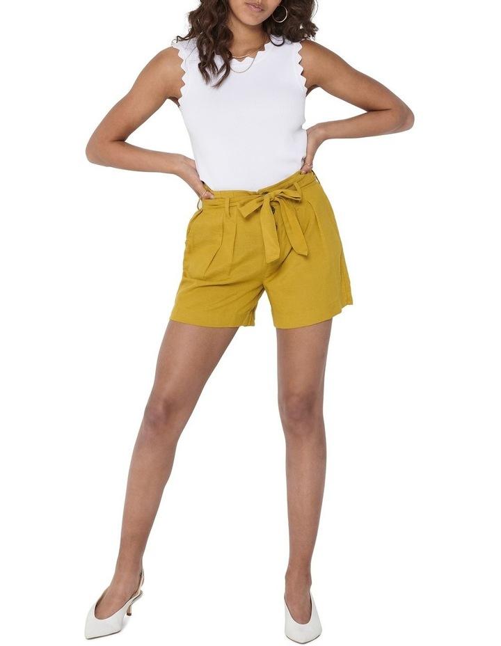 Viva High Waist Belt Shorts image 3