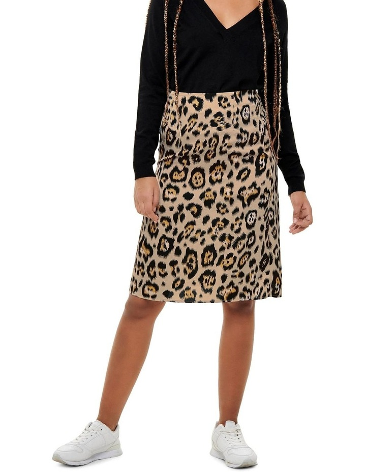 Leopard Print Skirt image 1