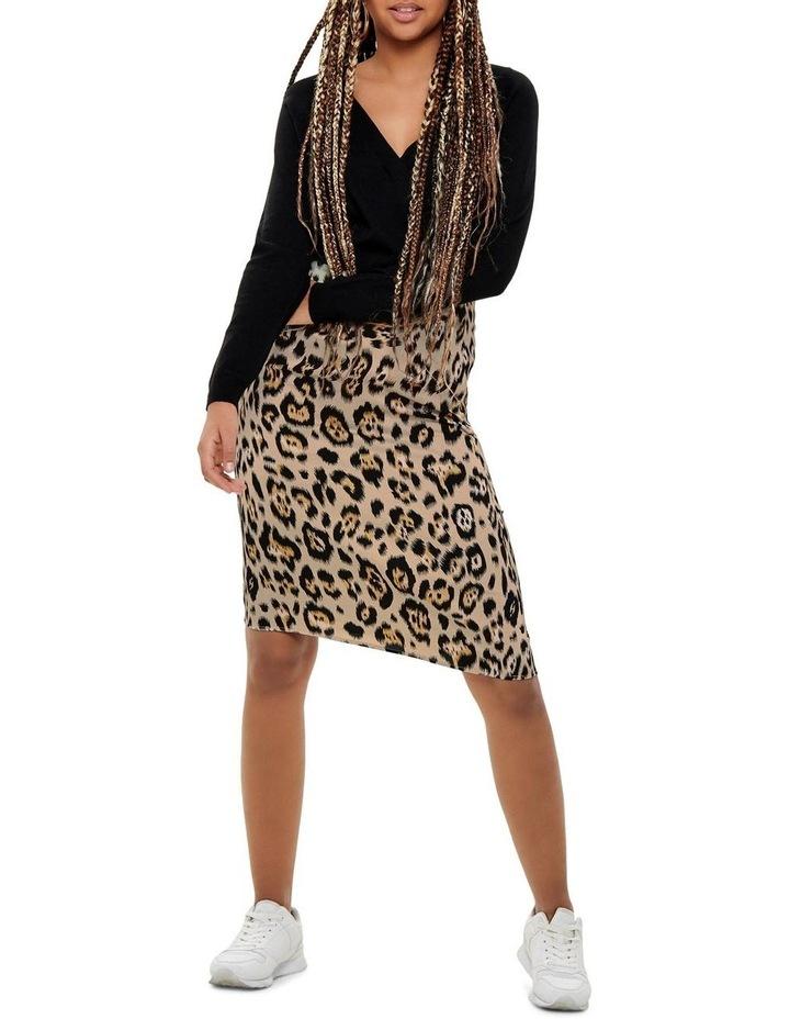 Leopard Print Skirt image 2