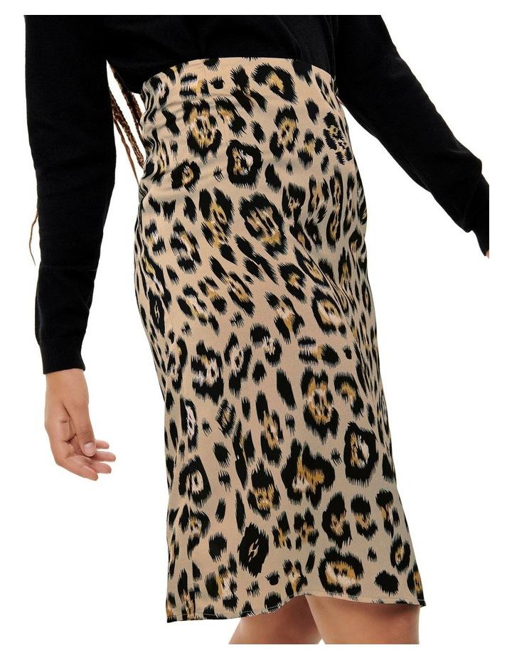 Leopard Print Skirt image 3