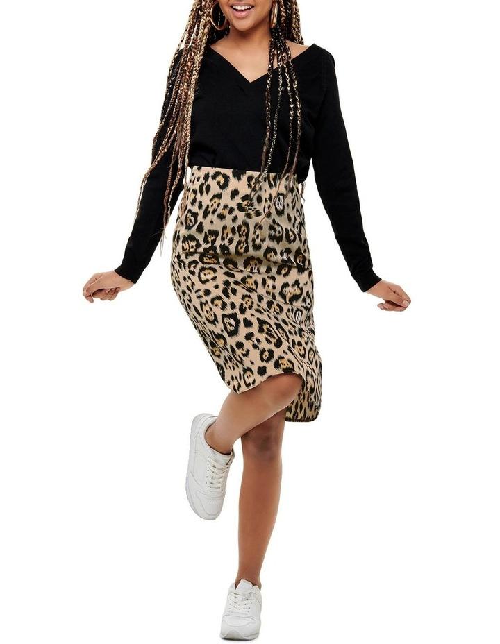Leopard Print Skirt image 4