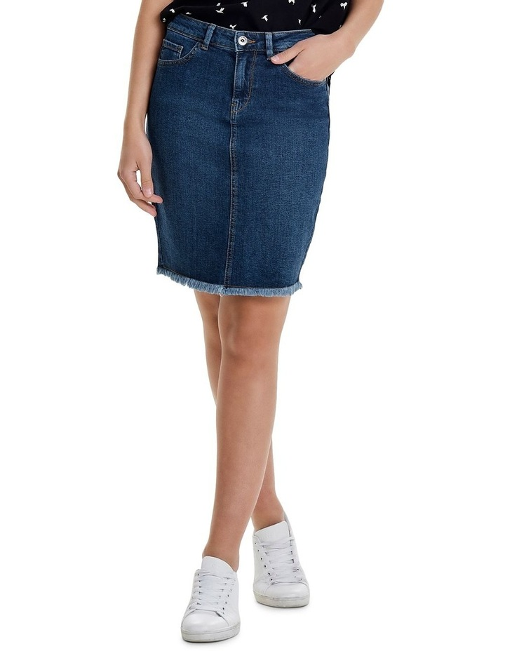 Leliza Denim Skirt image 4