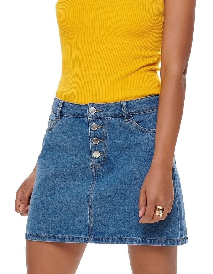 Button Denim Skirt image 1