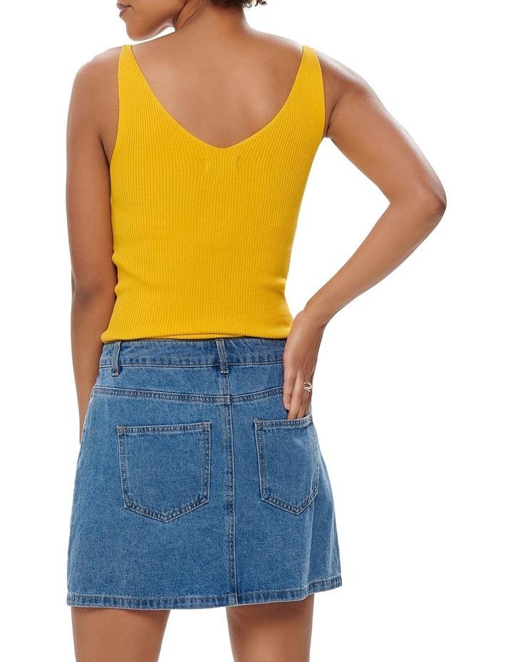 Button Denim Skirt image 2