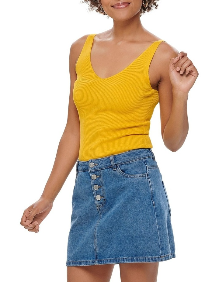 Button Denim Skirt image 3