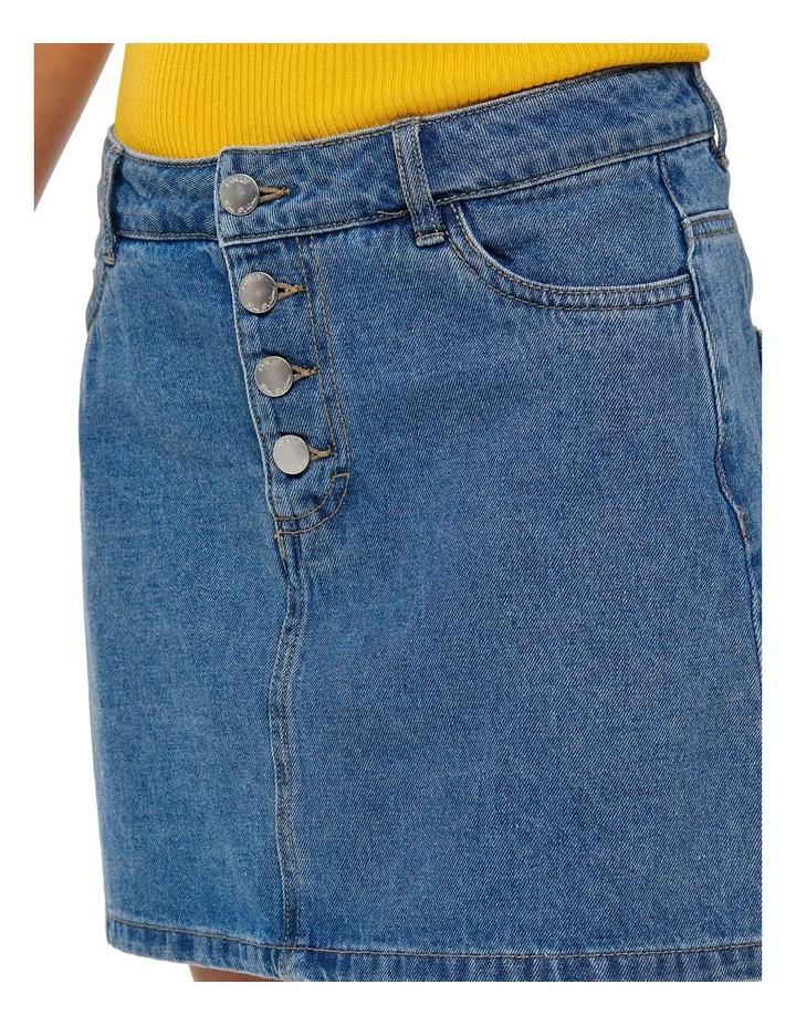 Button Denim Skirt image 4