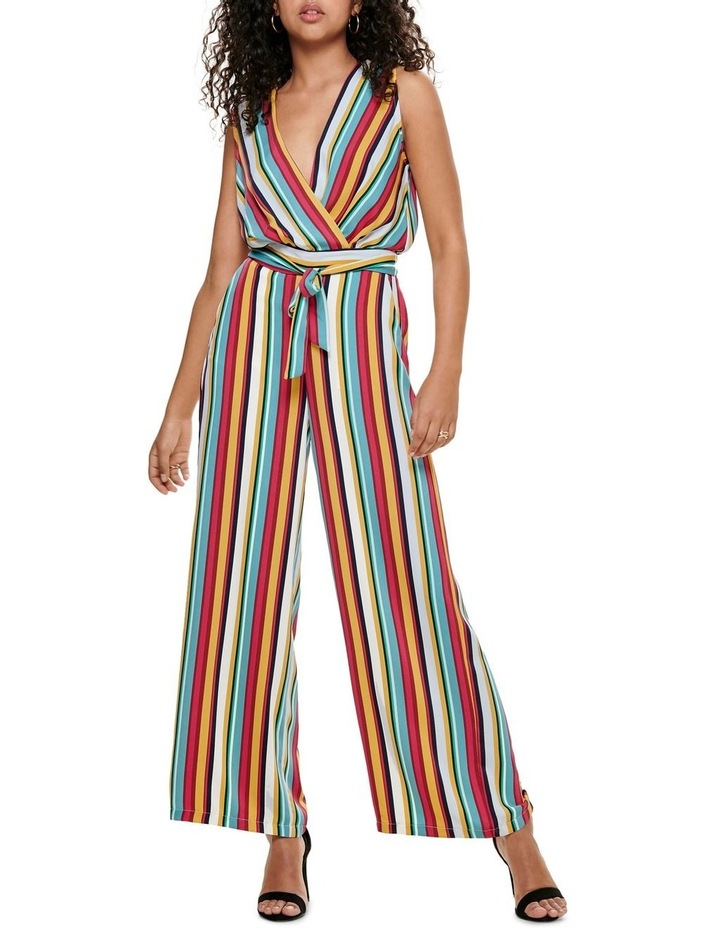 Milly Stripe Jumpsuit image 1