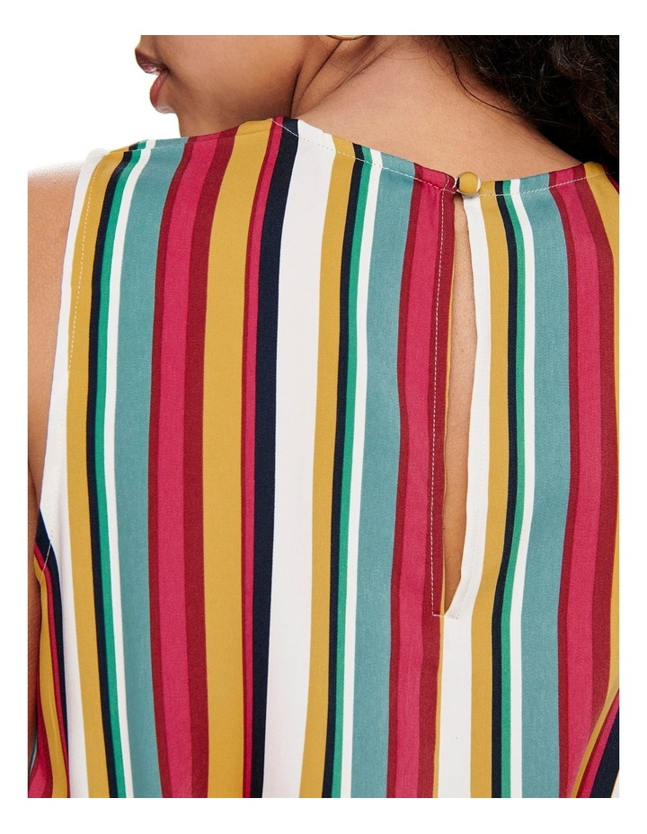 Milly Stripe Jumpsuit image 5