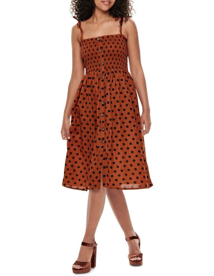 Polka Dot Midi Dress image 1
