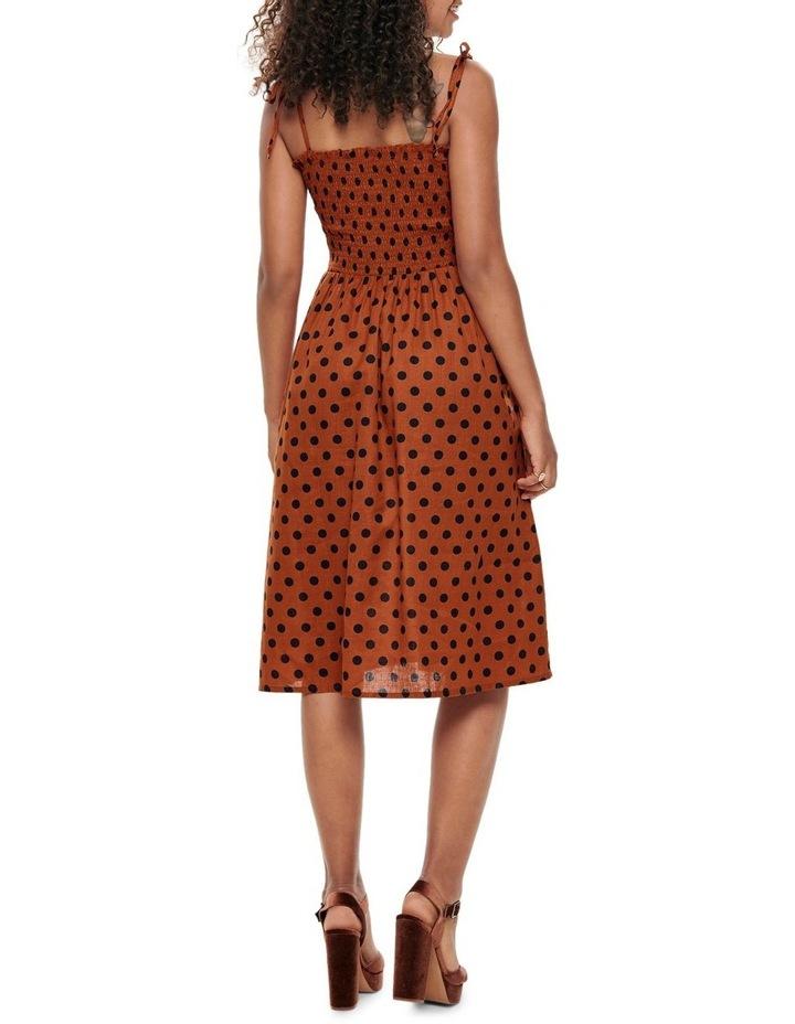 Polka Dot Midi Dress image 2