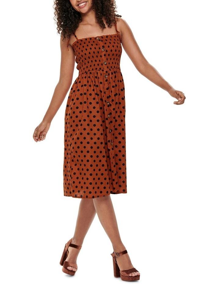 Polka Dot Midi Dress image 3