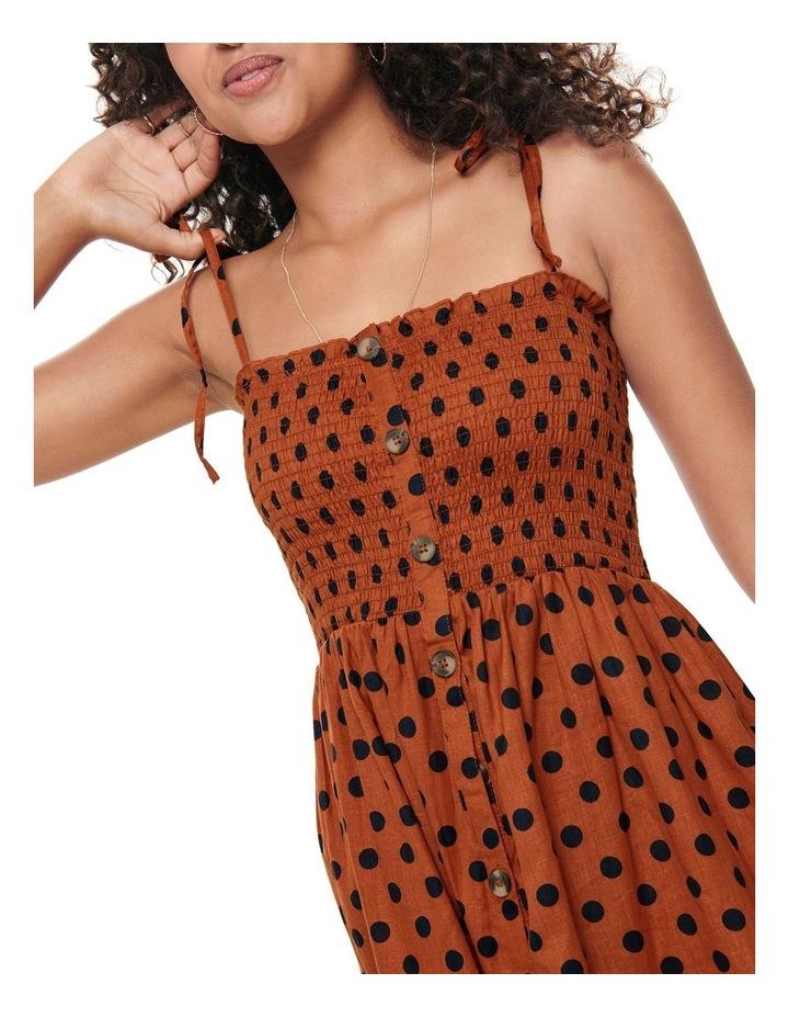 Polka Dot Midi Dress image 4