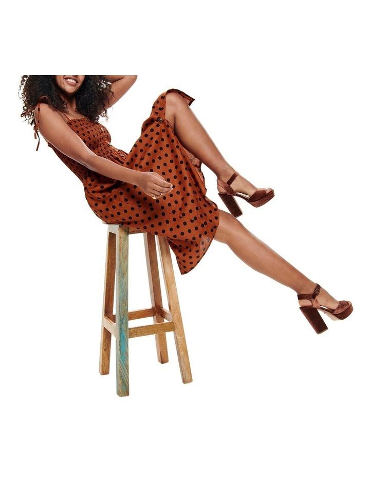 Polka Dot Midi Dress image 5