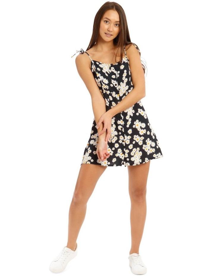 Daisy Tie-Strap Mini Dress image 1