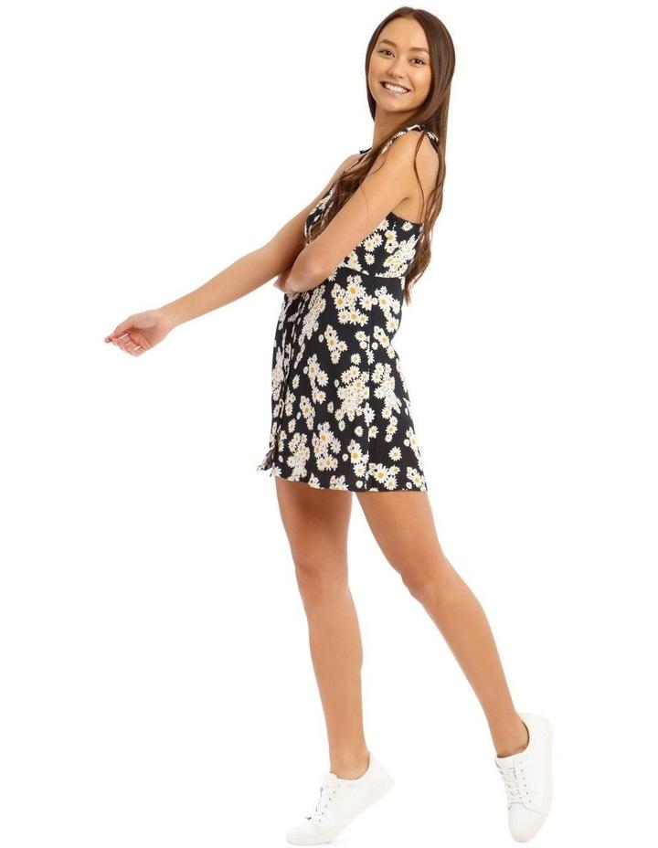 Daisy Tie-Strap Mini Dress image 2