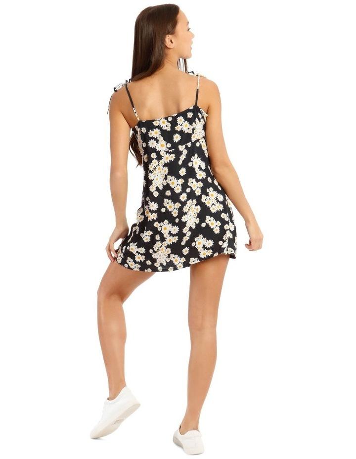 Daisy Tie-Strap Mini Dress image 3